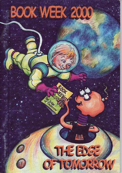 Book Week 2000 Cover - The Edge of Tomorrow