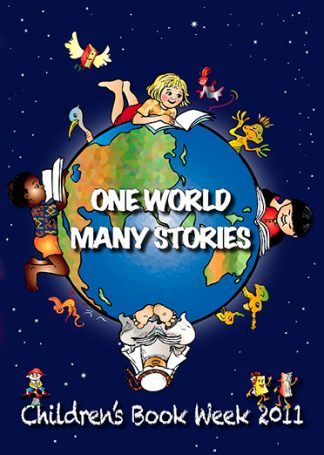 Book Week 2001 Cover - One World Many Stories